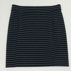 Madewell - Striped Fitted Skirt